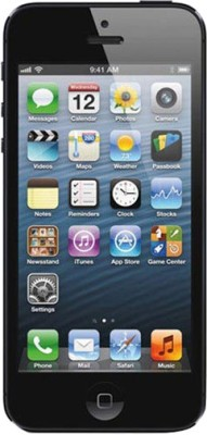 Apple iPhone 5 Black, with 32 GB available at Flipkart for Rs.52500