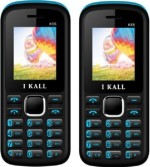 i KALL 1.8 Inch Dual Sim Multimedia Set Of Two Mobile With Bluetooth Blue