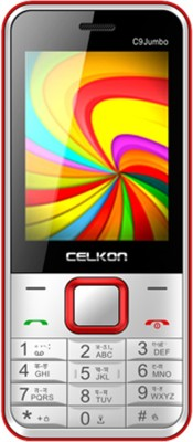 Celkon C9 Jumbo (Black & Red)