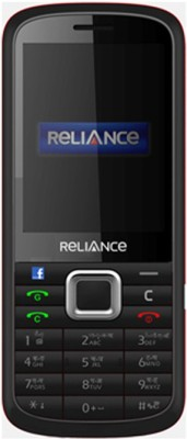Reliance D286 GSM CDMA (Black & Red)
