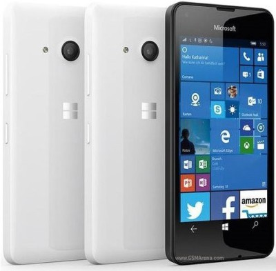 Microsoft Lumia 550 (White, 8 GB)