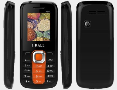 I KALL K 99 Dual Sim Feature phone with bluetooth and torch light Orange