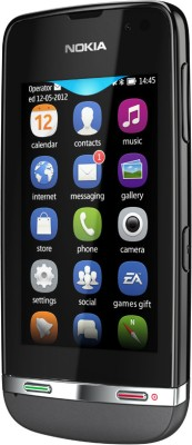 Nokia Asha 311 (Dark Grey, 140 MB)