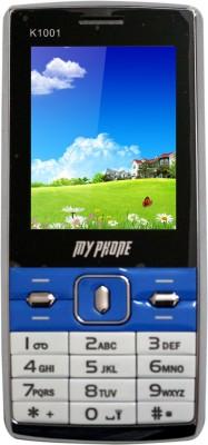 My Phone K 1001 (White, Blue)