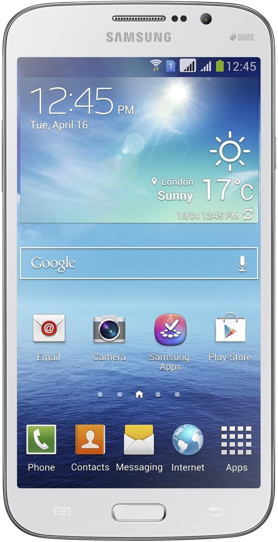 Samsung Galaxy Mega 5.8 I9152 White