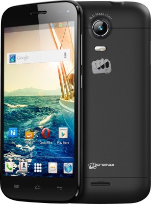 Micromax Canvas Turbo Mini A200 (Black, 1.61 GB)