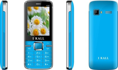 I KALL (K35BLUE+K35RED) Dual Sim 2.4 Inch mobile Combo (Blue, Red)