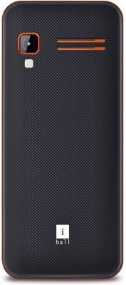 iBall Sumo Star 2.8H Dual Sim (Black, Orange)