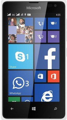 Microsoft Lumia 435 (White, 8 GB)