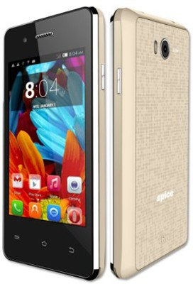Spice Mi-362 (Black, Gold, 2 GB)