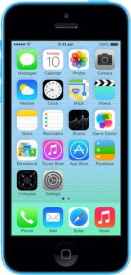 Apple iPhone 5C Blue, with 32 GB available at Flipkart for Rs.46350
