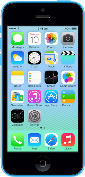 Apple iPhone 5C Blue, with 32 GB