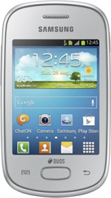 Samsung Galaxy Star S5282 Silver available at Flipkart for Rs.4450