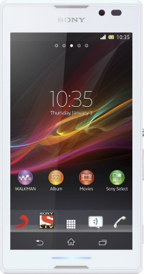 Sony Xperia C (White, 4 GB)