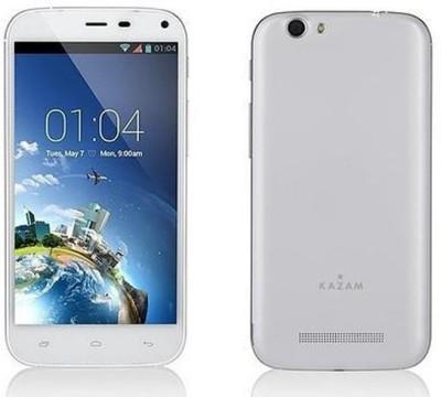 Kazam Thunder 2 5.0 (White, 4 GB)