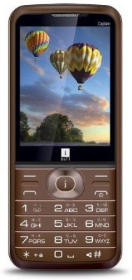 iBall Captain 2.8G (Brown, Gold)