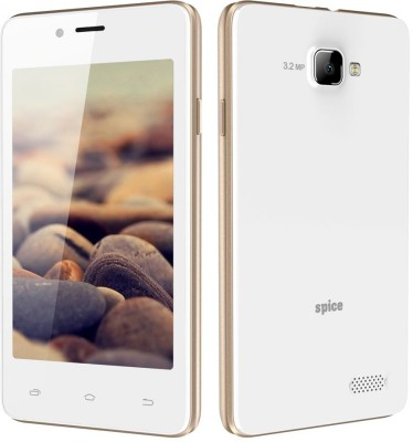 spice Spice XLife 406 (White+Champagne, 4 GB)