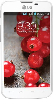 LG Optimus L5 II Dual E455 (White, 4 GB)