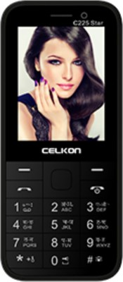 Celkon C225 Star (Black)