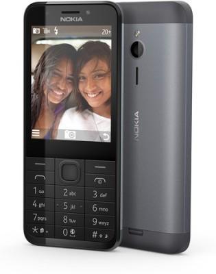 Nokia 230 Dual Sim (Dark Silver) (Dark Silver, 256 MB)