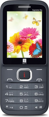 Iball Supremo Big 2.4D Dual Sim (Black, Gold)