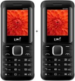 UNI 1.8 inch TRIPLE Sim Multimedia Set of two Mobile Black