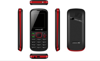 Videocon Cloud V1E7 (Black & Red)
