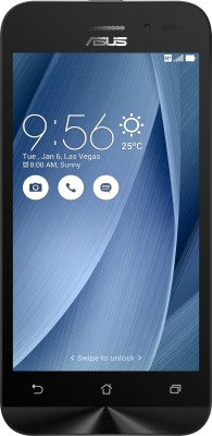 Asus Zenfone Go (2ndGen) (Silver, 8 GB)