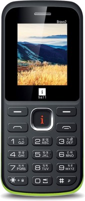 iBall Sumo Star 2.8H Dual Sim (Black, Green)