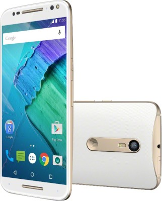 Moto X Style (White and Champagne, 32 GB)