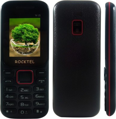 Rocktel W15 (Black & Red)