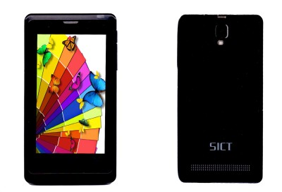 SICT SG-3 with Free Flip Cover (Black, 512 MB)
