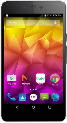 Micromax Canvas Selfie Lens (Moon Dust Grey, 8 GB)