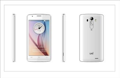 UNI N-6200 Dual SIM Mobile (White)
