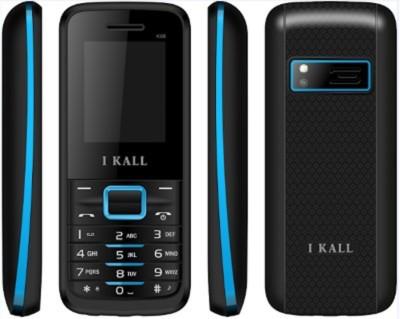 I KALL K-88 Set of 2 Dual SIM Multimedia Mobiles (Grey, Black & Red)