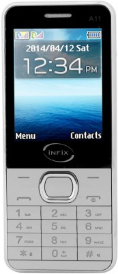 Infix A-11 Dual Sim Multimedia 2.4 Inches (Grey)