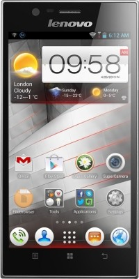 Lenovo K900 (Steel Grey, 16 GB)
