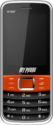 My Phone 1007 BO (Black, Orange)