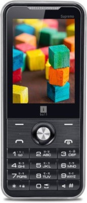 iBall Supremo 2.4D with Free Protective Cover (Black+Orange)
