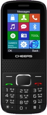 Cheers Sleek21 (Curve with Big Display) (Black+Red)