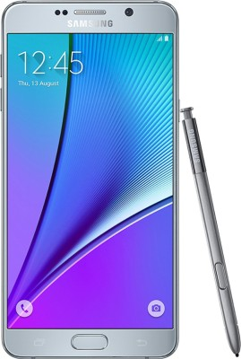 Samsung Galaxy Note 5 32GB Single Sim - Silver (Silver, 32 GB)