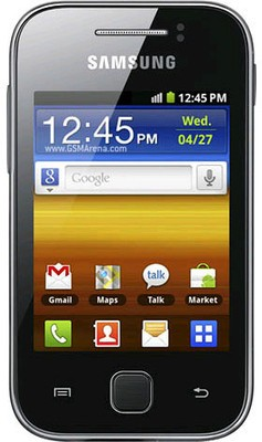 SAMSUNG Galaxy Y (Metallic Gray, 140 MB)
