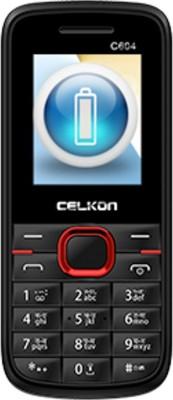Celkon C604 (Black & Red)