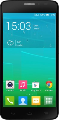 Compare Alcatel Onetouch Idol X+ Bluish Black, with 16 GB at Compare Hatke