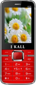I KALL K35 Dual Sim Mobile With Torch Light-Red (2.4 Inch) (Red)