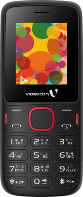 Videocon V1393 (Black, Red)