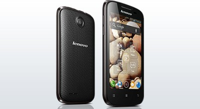 Lenovo A690 Black available at Flipkart for Rs.7299