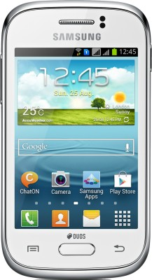 Samsung Galaxy Young S6312 White, 2  GB available at Flipkart for Rs.4500