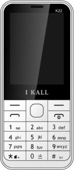 i KALL Dual Sim 2.4 Inch Feature Phone With Bluetooth White