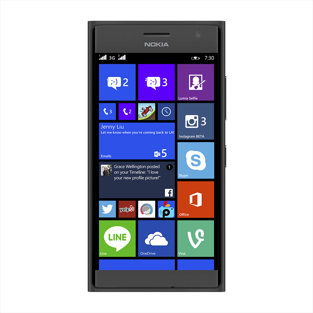 Nokia Lumia 730 Dark Grey